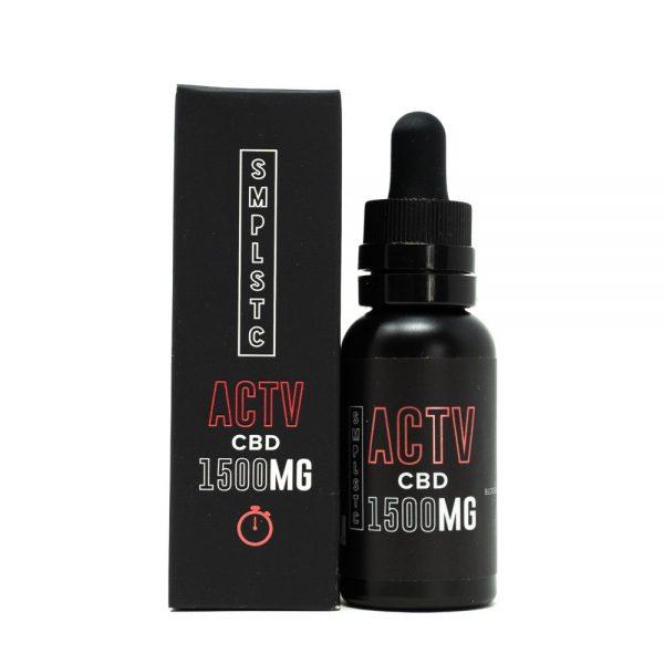 1500 mg CBD Oil Tincture Tropical Flavor