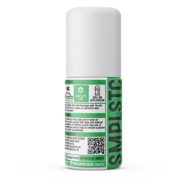 SMPLSTC 500 mg Full SpectrumCBD Roll On