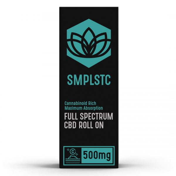 500 mg Full Spectrum CBD Roll On with Menthol