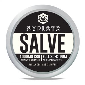 SMPLSTC 100 mg Full Spectrum CBD Salve
