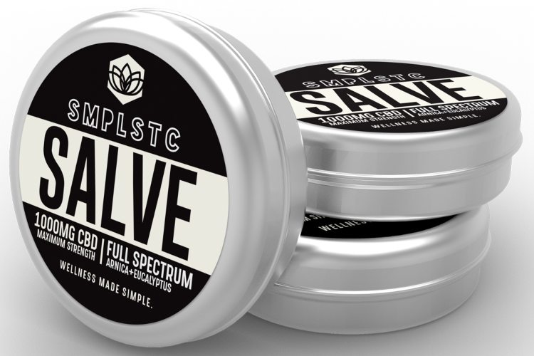 SMPLSTC 1000 mg Full Spectrum CBD Salve